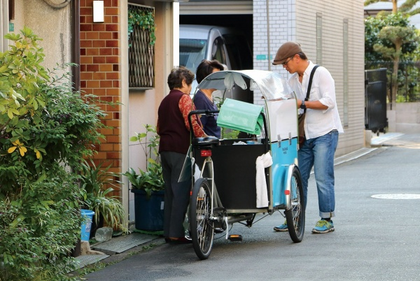 Pedal & milk worksの移動販売