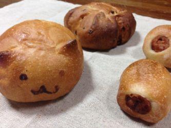 庭のパン屋さんのパン